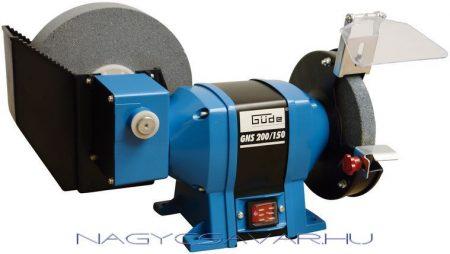 Güde GNS 200/150 száraz- nedves köszörű 350W 200/150mm