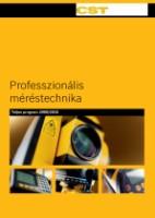 CST Berger Professzionális mérőműszerek katalógus 2,2Mb