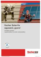 Fischer napelemtartó rendszer katalógus 2,3Mb