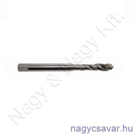M6x1,0 gépi menetfúró erősített, csavart, zsákfurat HSS-G DIN 371