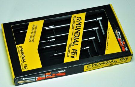 Mundial T nyelű imbuszkulcs klt.10r. 2-14mm