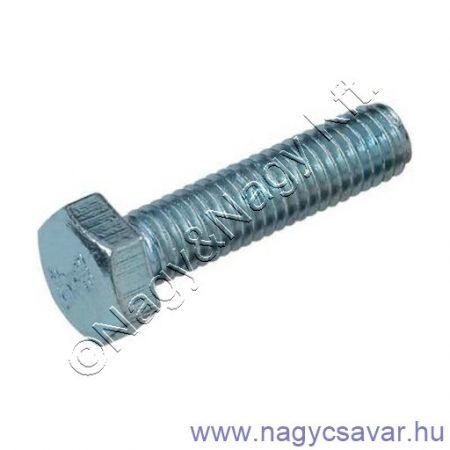 M8x90 hlf.tm.csavar horg. 8.8