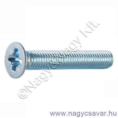 M3x5 sf.xh.csavar horg. 4.8