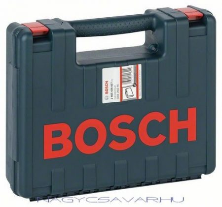Bosch műanyag szerszámkoffer ütvefúrókhoz