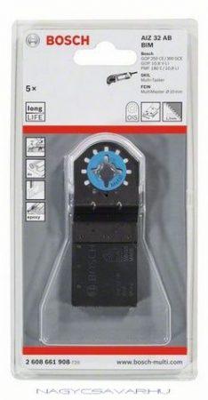 """Bosch AIZ 32 AB BiM merülő fűrészlap """"Metal"""" 32x30 mm 1db/5db/25db"""