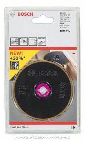 Bosch AOI 85 EB BIM-TiN szegmens fűrészlap, 85 mm
