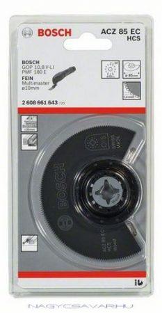 Bosch ACZ 85 EC szegmens fűrészlap