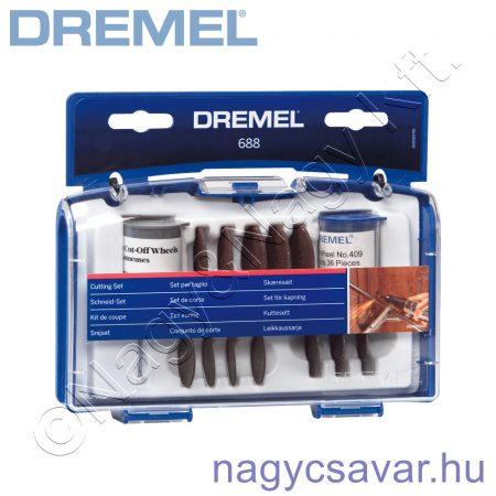 688 vágó készlet DREMEL