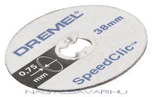 Dremel SC409 vékony vágókorong, 5db/cs