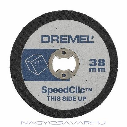 Dremel SC476 műanyagvágó korongok, 5db/cs