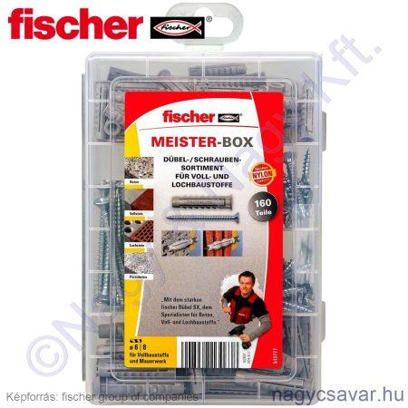 Fischer dübel + csavar készlet 160r.