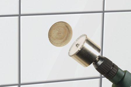 """Gyémánt koronafúró Ø35mm, S=10mm, d=45mm, """"ceramic"""""""