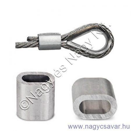 Alumínium hüvely  5mm