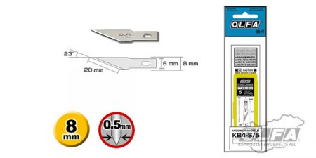 OLFA KB4-S-5 dekor penge 5db