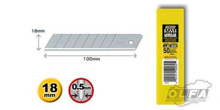 Olfa LB-50 18mm-es penge 50db