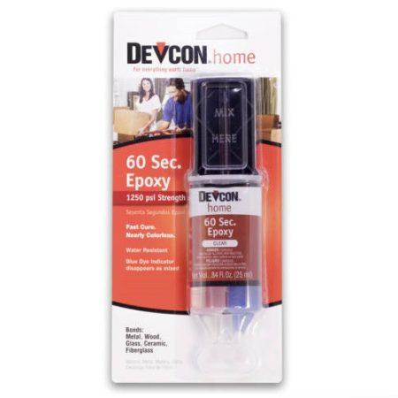 60 Sec. Epoxy 1 perces ragasztó Devcon (S-211)
